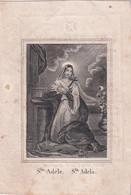 H.PRENTJE  Ste.ADELE  + EUGENIE KREGERSMAN  GAND 1820     1848      2 SCANS - Esquela