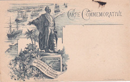 Port Said - Carte Commemorative, Inauguration De La Statue De Ferdinand De Lesseps 17 Novembre 1899 - Port Said