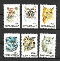 Romania 1993 Animals - Cats - Art - Paintings MNH - Nuevos