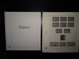 France Pages Safe Dual 1987 à 1993, 51 Pages Préimprimées Avec Pages Plastiques Pour Le Classement Des Timbres ) - Pre-printed Pages