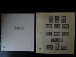 France Pages Safe Dual 1994 à 2000, 60 Pages Préimprimées Avec Pages Plastiques Pour Le Classement Des Timbres ) - Pre-printed Pages
