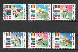 Romania 1990 Football World Cup - ITALY MNH - Nuevos