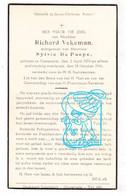 DP Richard Vekeman ° Oosterzele 1878 † 1941 X Sylvie De Paepe - Imágenes Religiosas