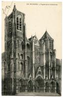 CPA 18 BOURGES Cathédrale (exp à Lucien Michelot 29ème RI SP 222 ) - Bourges