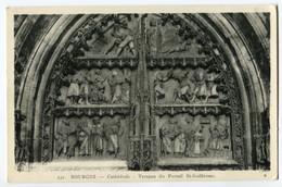 CPA 18 BOURGES Cathédrale  Portail Saint Guillaume - Bourges