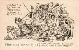 CPA - STOLZ - Fratelli Bianchelli - Regali E Giocattoli - Pubblicitaria, Publicité, Advertising - NV - PU038 - Advertising