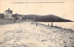 22 Le Val-André Un Coin De Plage Et La Pointe Du Rocher Des Murs Blancs. 1913 - Pléneuf-Val-André