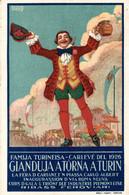 CPA - C. NICCO - Cioccolato VENCHI - Gianduja, Famija Turineisa - Pubblicitaria, Publicité, Advertising - NV - PU040 - Advertising