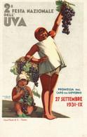 CPA - M. GROS - 2° Festa Nazionale Dell'Uva - Pubblicitaria, Publicité, Advertising - NV - PU041 - Advertising