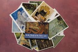 BEST! Full Set 16 Russian Fairy Tale Postcards. Bilibin, Vrubel, Repin, Roerich, Vasnetsov. Snegurochka. Black Cat.... - Fiabe, Racconti Popolari & Leggende