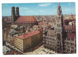 NEUES RATHAUS - FRAUENKIRCHE.- MUNICH.- ( ALEMANIA ) - München