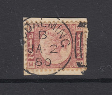 Great Britain, Scott 58 (SG 49), Used, Plate 15 - Used Stamps