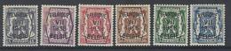 Nr PRE 369-74 * - Typo Precancels 1936-51 (Small Seal Of The State)