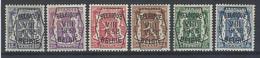 Nr PRE 375-80 * - Typo Precancels 1936-51 (Small Seal Of The State)