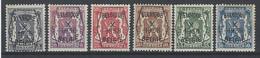Nr PRE 387-92 * - Typo Precancels 1936-51 (Small Seal Of The State)