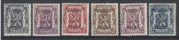 Nr PRE 393-98 * - Typo Precancels 1936-51 (Small Seal Of The State)