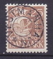 Vorläufer Faroe Islands Denmark Used Abroad Uds. Stjernestempel Star Cancel VESTMANNAHAVN 1934 Mi. 208, 25 Øre Karavelle - Féroé (Iles)