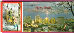 Beautiful Hong Kong 10 Postcards Booklet With Mailable Miniatures Unused - Cina (Hong Kong)