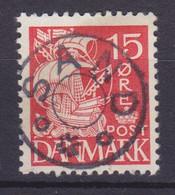 Vorläufer Faroe Islands Denmark Used Abroad Uds. Stjernestempel Star Cancel SAND (Sandu) 1933 Mi. 202, 15 Øre Karavelle - Féroé (Iles)