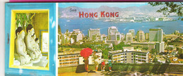 See Hong Kong View 10 Postcards Booklet With Mailable Miniatures Unused - Cina (Hong Kong)