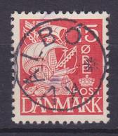 Vorläufer Faroe Islands Denmark Used Abroad Uds. Stjernestempel Star Cancel KVALBO 1933 Mi. 202, 15 Øre Karavelle - Féroé (Iles)
