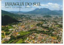 Jaraguá Do Sul, Santa Catarina.  Vue Aerienne. Carte Postale Envoyee En Andorre - Andere