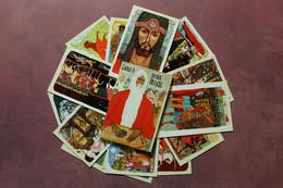 Full Set 15 Russian Postcard USSR 1972 SLOVO O POLKU IGOREVE / Word About Igor's Regiment. Artist Semenov - Fiabe, Racconti Popolari & Leggende