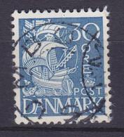 Vorläufer Faroe Islands Denmark Used Abroad Uds. Stjernestempel Star Cancel SUMBØ 1934 Mi. 209, 30 Øre Karavelle - Féroé (Iles)