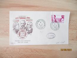 1951 Alfort 9 Eme Journees Veterinaires Dec  Enveloppe 1 Er Jour Bouley Nogard Chauveau - 1950-1959