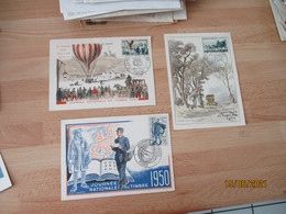 Cm Carte Maximum Lot 3 Cartes 1950.55.52 - 1950-59