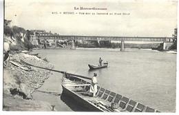 MURET - Vue Sur La Garonne Au Pont Neuf - Muret