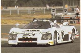 Rondeau M382 - Pilotes:Henri Pescarolo/Michel Ferté -  Concurrents Francaises Du Mans 1983  -  15x10cms PHOTO - Le Mans