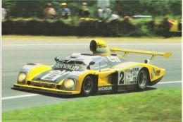 Renault Alpine A442B - Pilotes:Didier Pironi/Jean-Pierre Jaussaud -  Concurrents Francaises Du Mans 1978 -15x10cms PHOTO - Le Mans