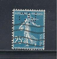 Y & T   N°  140  Perforé   C W  378     Ind  6  Roulette (26§07) - Perfins