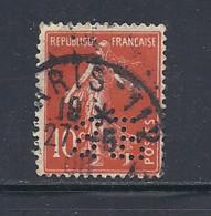 Y & T   N°  138  Perforé   S F  73     Ind  5   (26§07) - Perfins