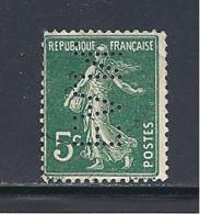 Y & T   N°  137  Perforé   F. A. N.  8   Ind  7  (26§07) - Perfins