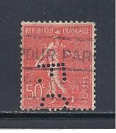 Y & T   N°  199  Perforé   F. O  77   Ind  6  (26§07) - Perfins