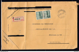 Aangetekende Brief Van Arendonk Naar Brussel - Covers & Documents