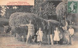 SAINT VAURY - La Rentrée De Foins - Agriculture - Other Municipalities