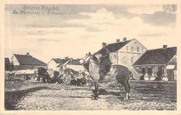 Am Marktplatz Von Wilkowischken (Vilkaviškis) Feldpost 1915 - Litouwen