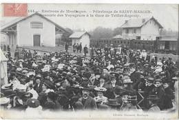 Pélerinage De SAINT MARIEN: Descente Des Voyageurs à La Gare De Teillet- Argenty - 144 Libr. Chaumont - Andere Gemeenten