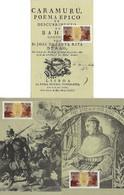 Brazil 1981 3 Maximum CardstampRHM-C-1226 Book Day Bicentennial Of The Publication Of The Poem Caramuru - Tarjetas – Máxima