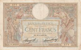 BILLET DE 500  FRANCS   LUC  OLIVIER  MERSON  EN BON ETAT  VOIR  SCAN - 100 F 1908-1939 ''Luc Olivier Merson''
