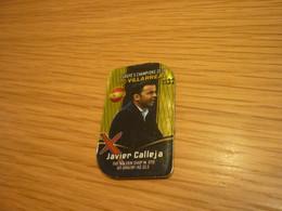 Javier Calleja Villarreal Coach Manager Spanish Football Soccer Europe's Champions 2019 Greek Metal Tag Fridge Magnet - Other