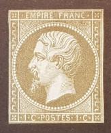 France Y&T 11 CV 120€ - Timbre(s) Nsg(*) - 2 Scan(s) - TB - 249 - 1853-1860 Napoléon III