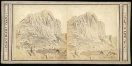Stereoview - Monte Solaro Capri ? NAPLES - ITALY - Visionneuses Stéréoscopiques
