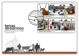 Portugal & FDC Barroso Lands, World Agricultural Heritage 2021 (77686) - Environment & Climate Protection