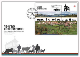 Portugal & FDCB Barroso Lands, World Agricultural Heritage 2021 (77686) - Environment & Climate Protection