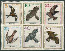 DDR 1965 Tiere Vögel Greifvögel 1147/52 Postfrisch - Neufs