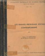 "Les Grands Problèmes Sociaux Contemporains - Fascicules I, II & III - ""Fondation Nationale Des Sciences Politiques, Serv - History"